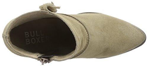 BULLBOXER 824511E6C - botas de cuero mujer beige - Beige (STON)