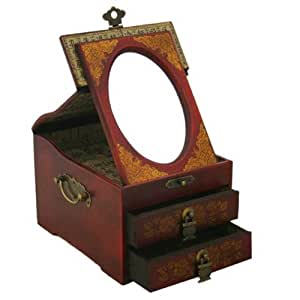 Amazon.com: Vintage Chinese Jewelry Keepsake box W