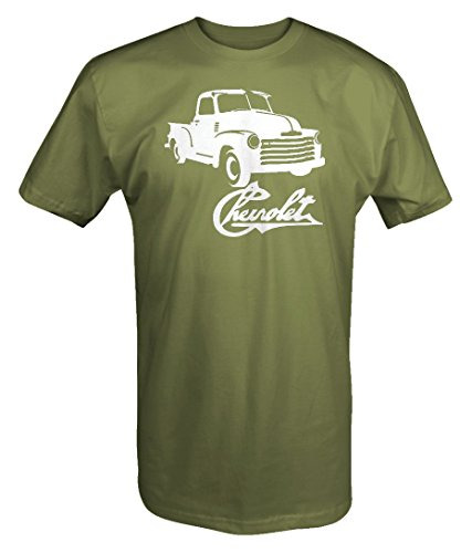 Chevy Pickup Truck - Chevrolet 1950's Pickup Apache Classic Chevy Truck T shirt - Xlarge