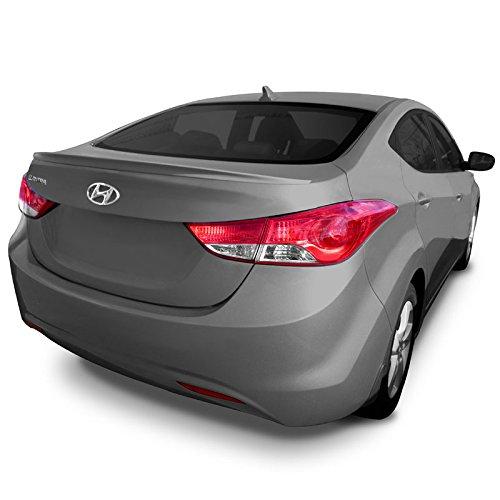 Hyundai Elantra Spoilers (ELA11-CFM Custom Style Flush Mount Spoiler for Hyundai Elantra - INDIGO NIGHT METALLIC (Y4U))