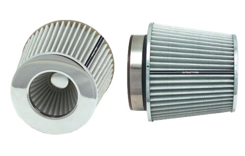 Spectre Performance 8138 Universal Clamp-On Air Filter: Round Tapered; 3 in/3.5 in/4 in (102 mm/89 mm/76 mm) Flange ID; 6.719 in (171 mm) Height; 6 in (152 mm) Base; 4.75 in (121 mm) Top by Spectre Performance (Image #8)