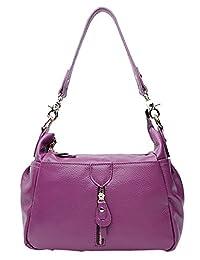 SAIERLONG New Womens Cowhide Genuine Leather Cross Body Bags Shoulder Bags