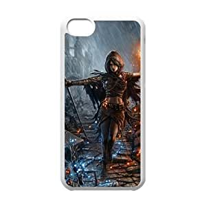 Dark Souls iPhone 5c Cell Phone Case White yyfabc-384098