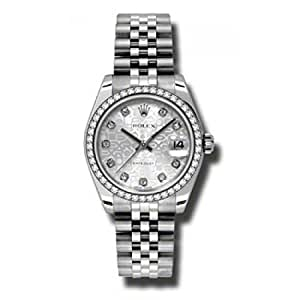 Rolex Datejust Silver Dial Women's Watch 178384