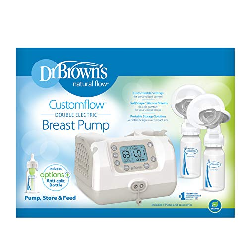 41 RO9SSkQL - Dr. Brown's Customflow Double Electric Breast Pump