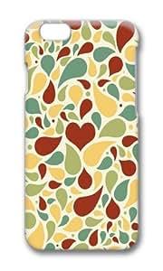 iPhone 6 Plus Case Color Works Light Colors Petals PC Hard Case For Apple iPhone 6 Plus 5.5 Inch Phone Case