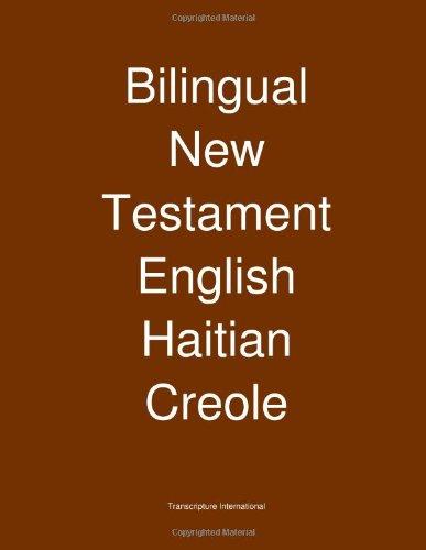 Bilingual Testament English Haitian Creole product image