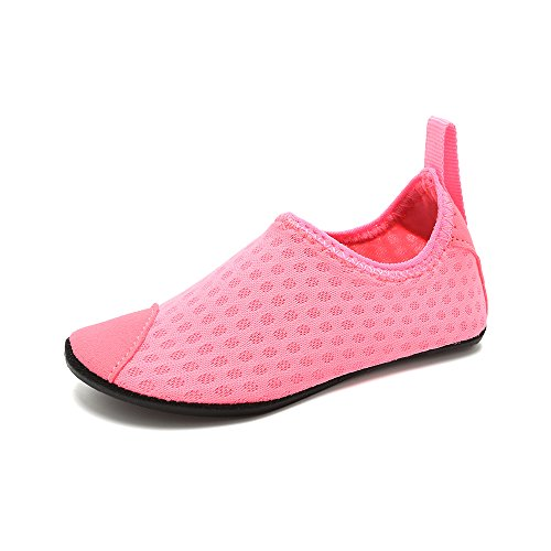 HooyFeel Cute Kids Toddler Sneakers Lightweight Slip on Swim Water Shoes Aqua Barefoot Socks for Baba Boys and Girls by HooyFeel (Image #1)