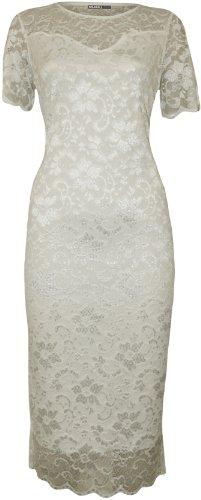 Buy ivory dresses plus size - 8