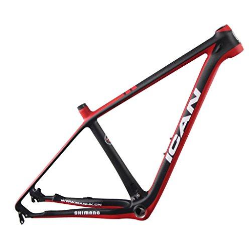 ICAN 29er Carbon Fiber Mountain Bike Frames BB92 Quick Release 1359mm 20 Inch