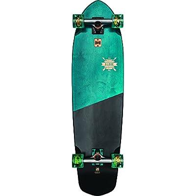 GLOBE Skateboards Blazer XL Longboard Complete Skateboard, Blue Tropics, Size 36 : Sports & Outdoors