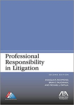 Book Professional Responsibility in Litigation