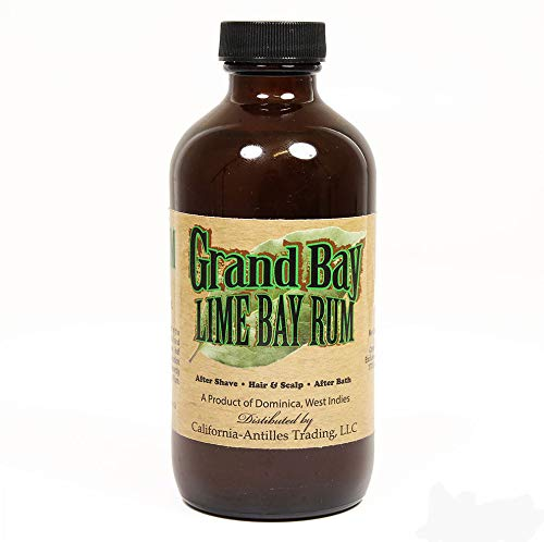 Grand Bay LIME Bay Rum Aftershave 8oz