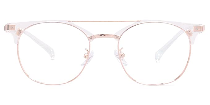 260b025897 Amazon.com  Firmoo Chic Browline Reading Glasses with Magnification ...