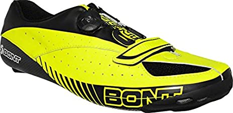 Bont Blitz Cycling Road Shoe: Euro 46 Neon Yellow/Black