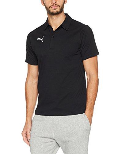Casuals Liga Black Uomo Polo white Camicia Puma P6HxaOwFqF