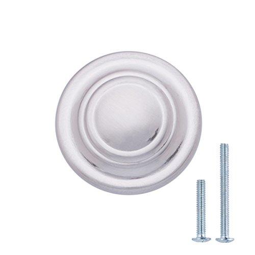 nickel round knob - 6