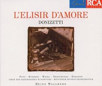 LElisir DAmore : Wallberg, Popp: Amazon.es: Música