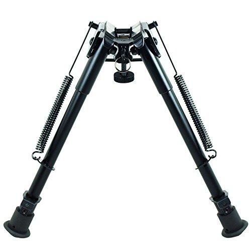 Rifle-Bipod-9-Inch-To-13-Inch-Adjustable-Spring-Return-Sniper-Hunting-RifleBipod-Sling