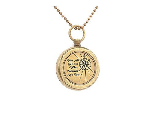 Scottish Clan Costume (Necklace Compass