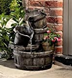 Cascading Barrels Water Feature