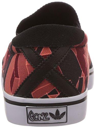 adidas Gonz Slip - Slip-On Hombre Rouge /orange / Noir / Blanc