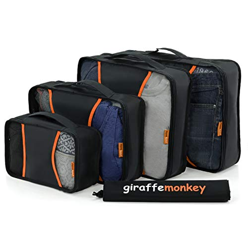 Packing Cubes Set with Laundry Bag, Premium Quality, Luggage, Travel Accessories, Organizers