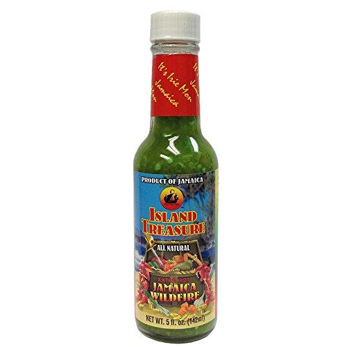 Hot Sauce Fruit (Island Treasure Papaya Pepper Sauce- 5oz.)