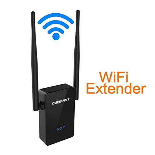 Wifi Range Extender, Comfast 300Mbps Wireless-N WiFi Repeater/ Router With Dual External Antennas and 360 Degree WiFi Coverage (Wifi Extender For Rv compare prices)