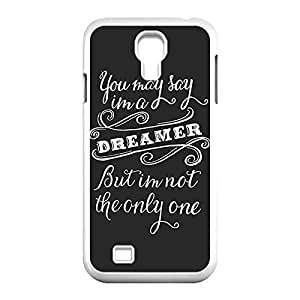 Designed Hard Case for Samsung Galaxy S4 I9500 Plastic Protective Case Cover with Band The Beatles _White 30310