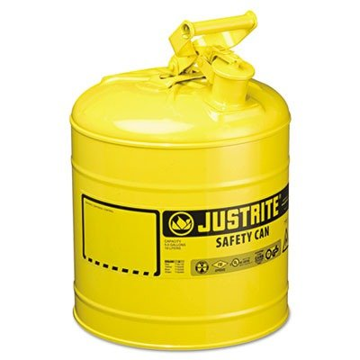 JUS7150200 Safety Can, Type I, 5 Gal, Yellow