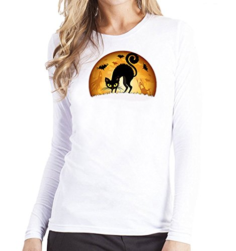 Clearance Sale!Toimoth Women Plus Size Printing Tees Shirt Long Sleeve T Shirt Blouse (WhiteB,S) -