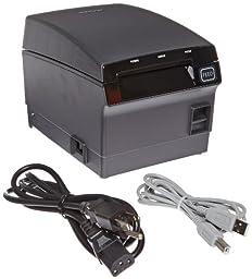 Bixolon SRP-F310 Waterproof Monochrome Desktop Thermal Receipt Printer With USB Ethernet Interface, 10.63 in/s Print Speed, 180 dpi Print Resolution, 2.83\