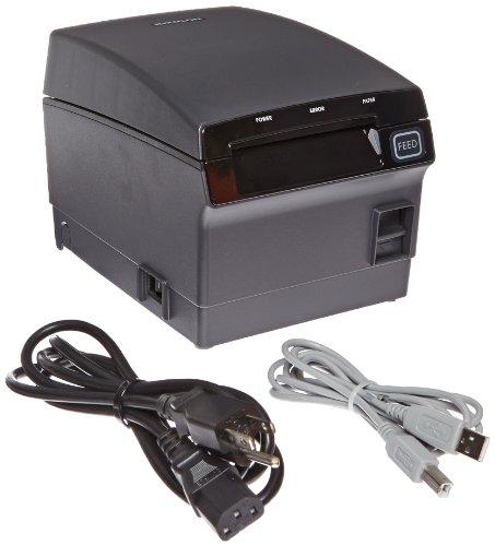 Bixolon SRP-F310 Waterproof Monochrome Desktop Thermal Receipt Printer With USB Ethernet Interface, 10.63 in/s Print Speed, 180 dpi Print Resolution, 2.83