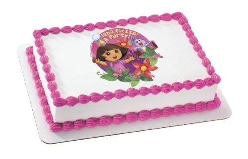 Dora the Explorer Edible Cake Topper Decoration