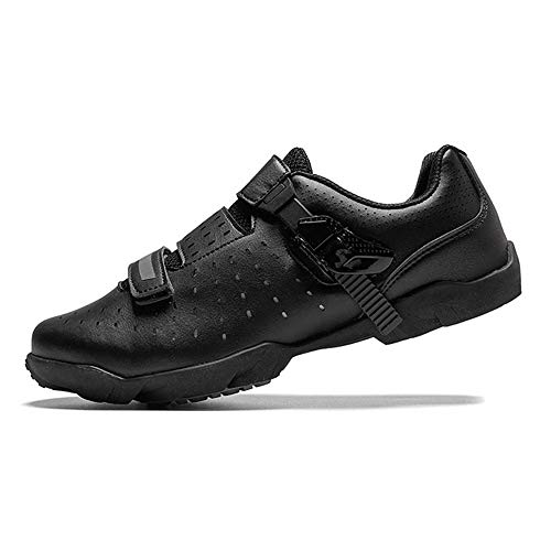 JJK Unisex Road Cycling Shoes, Lightweight Outdoor Mountain Bike Sneaker Breathable Bicycle Shoes Non-Slip Biking…