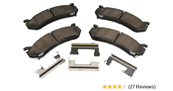 Front and Rear Ceramic Brake Pad Sets Kit ACDelco For Chevy Tahoe GMC Yukon 4WD