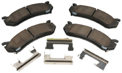ACDelco 171-670 GM Original Equipment Front Disc Brake Pad Kit with Brake Pads and Clips
