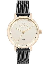Relógio Technos Feminino Ref  2035mml 5x Fashion Dourado 8c51a69917