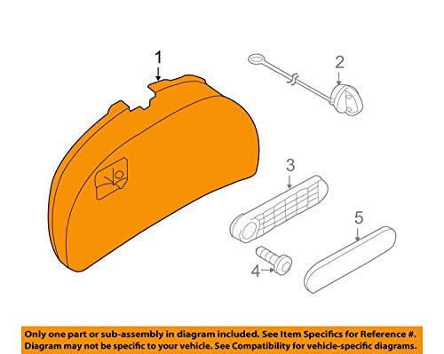 VW Volkswagen OEM TRIM PANEL 1Y0867605G71N, 1Y0-867-605-G-71N by Volkswagen (Image #3)