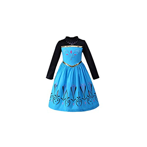 Girl Costume Princess Cinderella Fancy Clothes for Christmas Party Snow Queen Cosplay,As Picture2,8]()