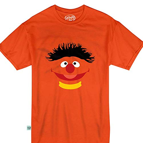 Orange Puppet Ernie Halloween Monster Costume Kids & Adult T-Shirt ()