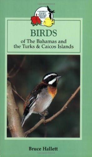 Birds of the Bahamas and the Turks and Caicos Islands (Caribbean Pocket Natural History) by Bruce Hallett (2006-08-30) - Turks And Caicos Birds