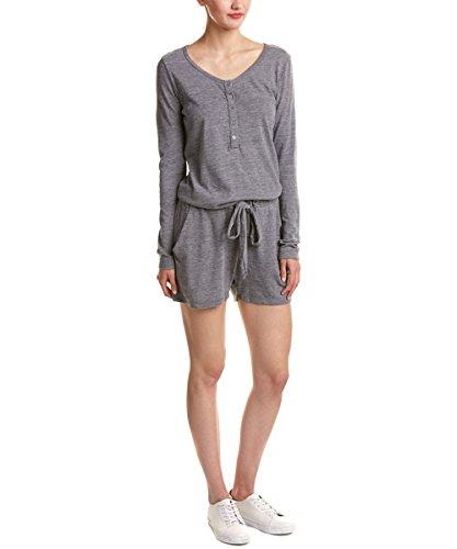 Nation LTD Women's Intermix Romper, Grey, M (Intermix Clothing)