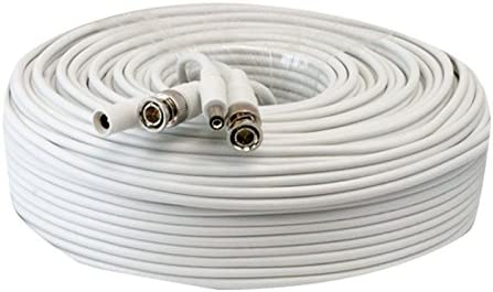 200FT Premade Coaxial BNC Power Video RG59 Cable for SDI TVI CVI Security Camera