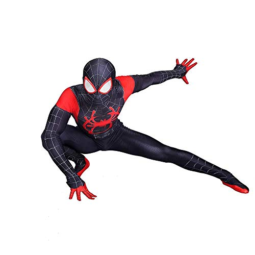 DAELI Into Spider-Verse Costume Miles Morales Costume (Miles Morales, Adult-XL(175-180CM)) ()