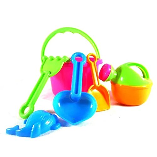 6 pcs Great Beach Sand Tools Toys Play Set for Family Summer Beach Activity Playset Gift for 1-10 Years Baby (Party City Melbourne)