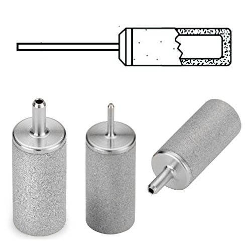 Inlet Stainless Steel Solvent Filters, Tube Stem, 1/8'', 10um, pack of 5 by MOTT (Image #1)