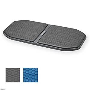 Gaiam Evolve Balance Board for Standing Desk, Balance Board, 05-62410, Grey/Black, One Size