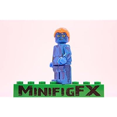 LEGO Mystique Minifig Marvel X-Men Mutant Raven Darkhölme: Toys & Games